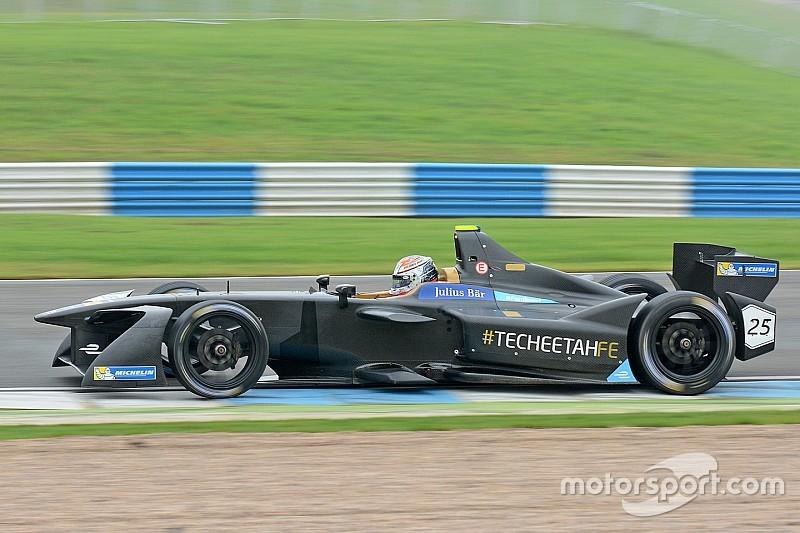 Вернь стал лучшим в понедельник на тестах Формулы Е