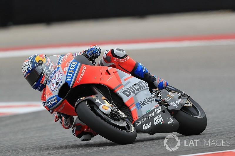 Jerez, Libere 1: Dovizioso precede di un soffio Marquez, Rossi sesto