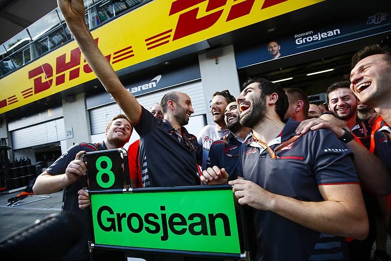 Nehéz szavakat találni a Haas teljesítményére: irány a 4. hely?