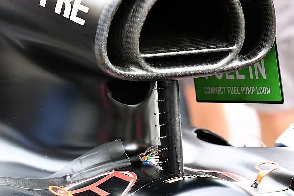 Hét apró mérőműszer került a Renault versenyzőinek feje fölé