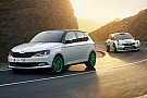 Automotive Skoda celebrates rally success with sporty Fabia Special Edition