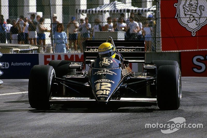 GALERÍA: los F1 en dorado y negro