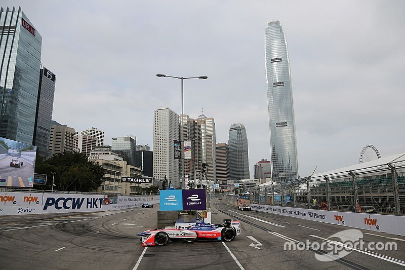 香港ePrix周日排位赛:罗森奎斯特克服侧滑摘下杆位