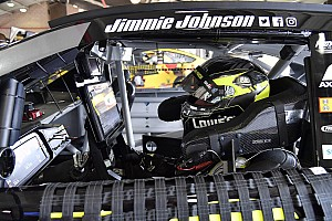 NASCAR Cup Breaking news Jimmie Johnson ends top ten drought at Fontana