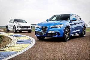 Automotive News Alfa Romeo Stelvio QV vs. Porsche Macan Turbo PP
