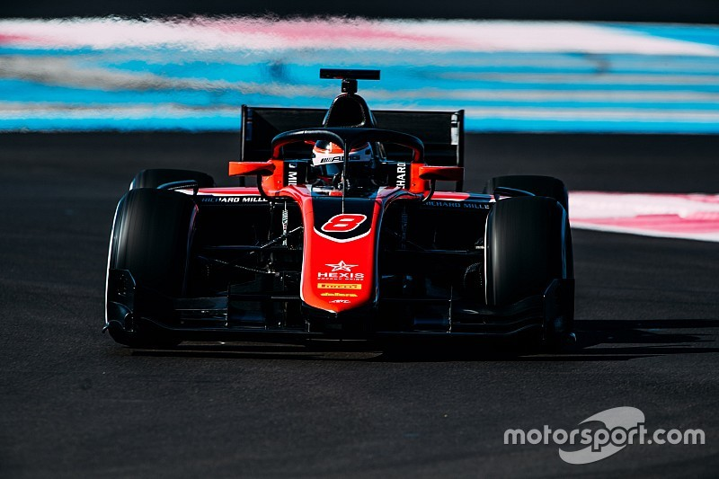 Mercedes reserve Russell tops final day of Paul Ricard F2 test