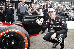IndyCar Репортаж з кваліфікації IndyCar у Сент-Піті: Вікенс виборов поул у дебютній гонці