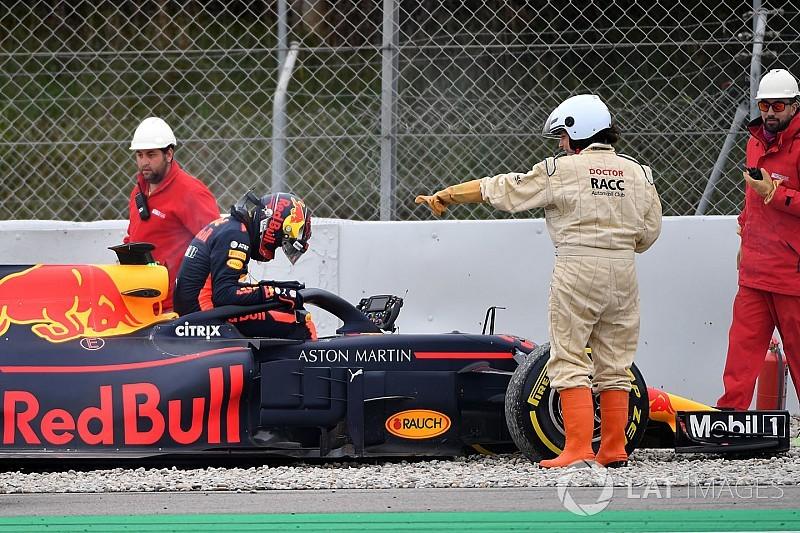Red Bull: Verstappen frenato da un guasto al cambio della RB14