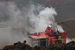 中国汽车场地越野锦标赛COC 比赛报告 COC贵州晴隆站出现争议一幕 杨帅因恶意阻挡受伤退赛