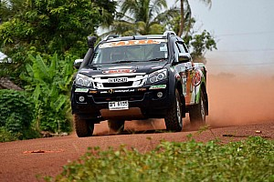 Cross-Country Rally Breaking news Takale/Sherif gets top 10 finish in Asian cross-country rally