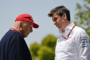 Wolff and Lauda to remain at Mercedes until 2020