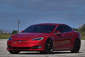 OTOMOBİL Son dakika Tesla Model S P100D Ludicrous'un Huracan Performante İle Yarışı