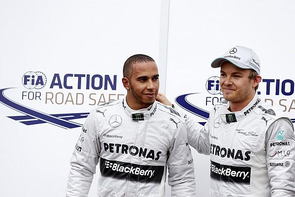 Rosberg: Hamilton'ın sözlerini iltifat olarak  kabul ediyorum