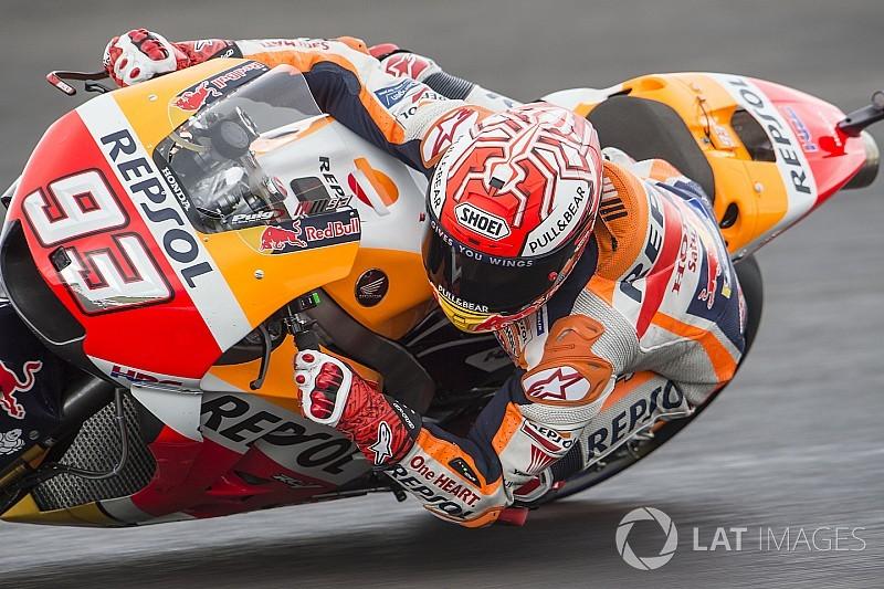 Argentina Motogp Marquez Tops Wet Fp3 Ducatis To Q1