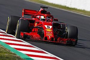 Formula 1 Test raporu 2. Barcelona testleri 1. gün: Vettel lider kapattı
