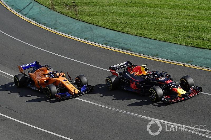 Verstappen vs. Alonso: 0,1 Sekunden entscheiden Gelbverstoß
