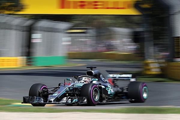 Формула 1 Репортаж з практики Гран Прі Австралії: Ферстаппен розділив два Mercedes у другій практиці