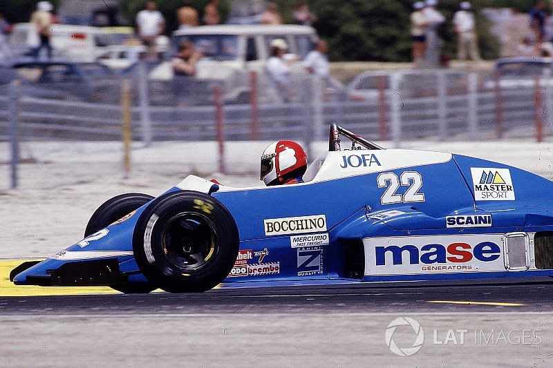 When Canadian Allen Berg drove for Osella in Formula1