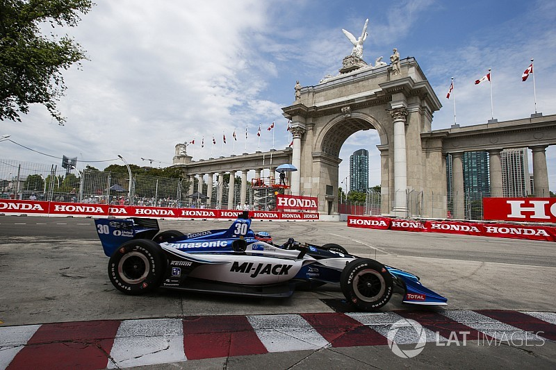 Toronto IndyCar: Sato sets unofficial track record in FP3