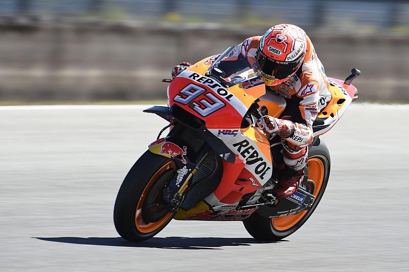 MotoGP Catalunya: Marquez ungguli Dovizioso pada warm-up