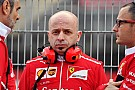 Chief designer Resta leaves Ferrari for Sauber