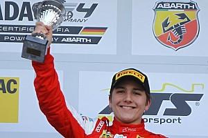 Fórmula 4 Últimas notícias Enzo Fittipaldi conquista pódio na abertura da F4 alemã