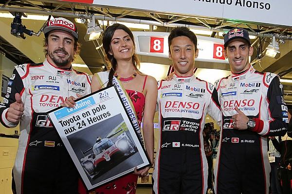 Экипаж Алонсо выиграл поул «24 часов Ле-Мана»