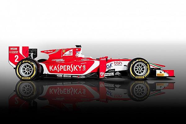 FIA F2 Топ список Відео: як фарбують машину Формули 2