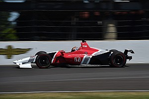 IndyCar Breaking news Montoya and Servia praise new IndyCar body kit after test