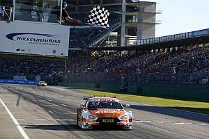 DTM Race report Hockenheim DTM: Green wins, Ekstrom fails to score