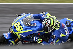 Iannone hadapi masalah top speed Suzuki