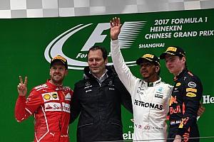 F1 レースレポート 【F1】中国GP決勝:ハミルトン今季初優勝。2位のベッテル寄せ付けず
