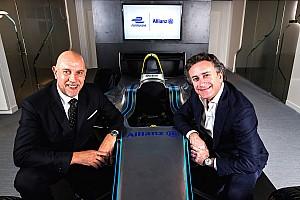 Formula E Breaking news Formula E announces partnership with Allianz