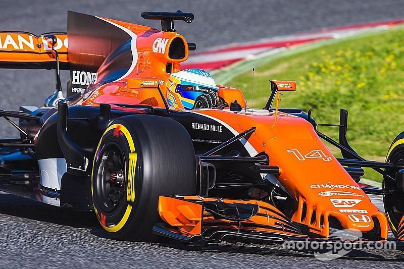 【F1】マクラーレン・ホンダMCL32、アロンソの手で初走行