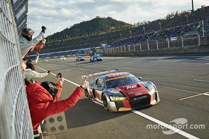 【Audi press center】藤井誠暢「アウディでどうしても勝ちたかった。本当に嬉しい」