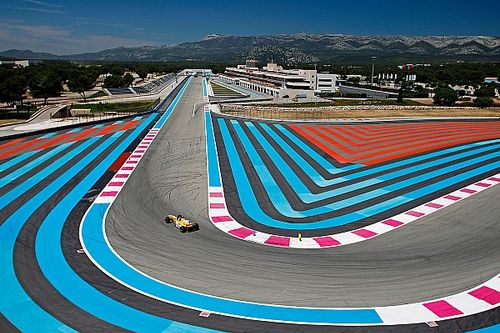 GP di Francia: saranno 2 le zone del Paul Ricard in cui i piloti potranno usare il DRS