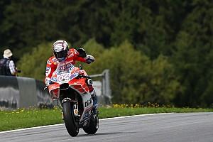 MotoGP Practice report MotoGP Austria: Dovizioso puncaki warm-up, Rossi keenam