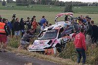 Video: Neuville crasht hard in Rally van Ieper