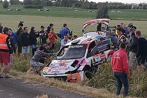 BRC Noticias de última hora Vídeo: el accidente de Neuville en el Rally Ypres