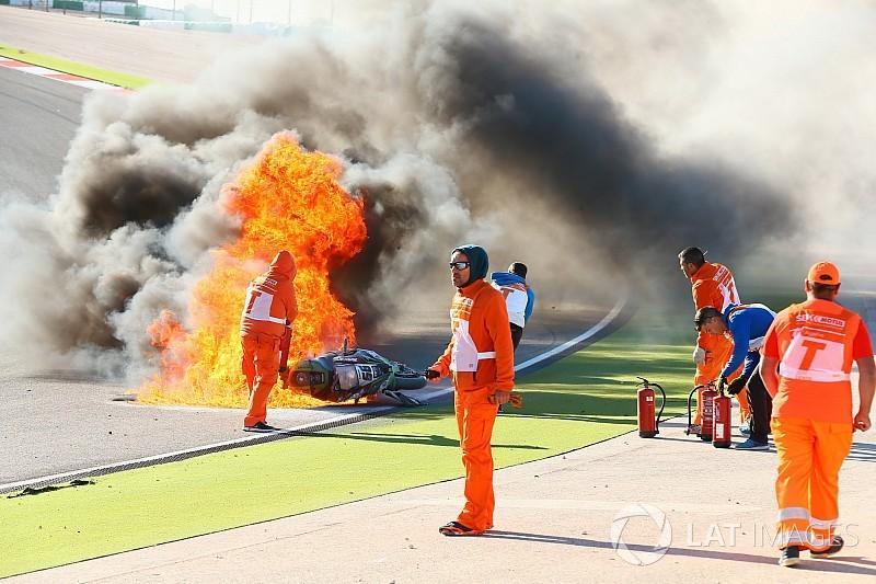 """Tom Sykes nach Feuerunfall in Portimao: """"Es wurde ziemlich heiß"""""""