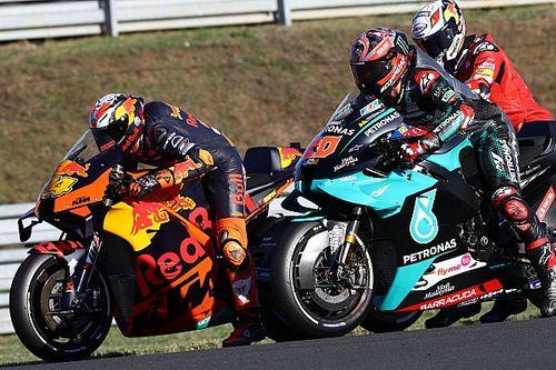 La grille de départ du Grand Prix de France MotoGP