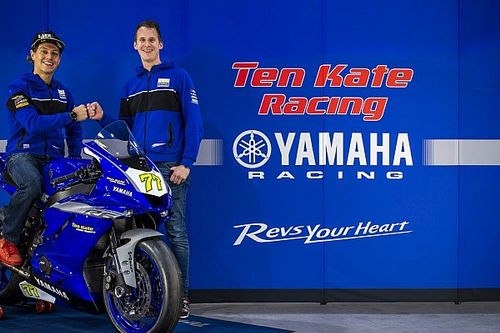 Ten Kate Yamaha keert met Aegerter terug in WK Supersport