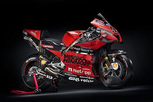 【ギャラリー】ドゥカティ2020年仕様MotoGPマシンカラーリング、全アングル