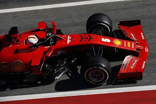 فيتيل متفائل بقدرات سيارة فيراري الجديدة بعد اختبارها في برشلونة