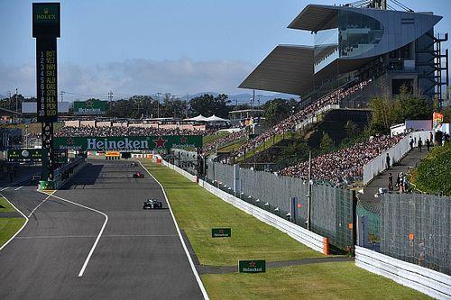 La Formula 1 annuncia la cancellazione del GP del Giappone