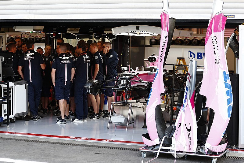 Force India переименовали в Racing Point Force India