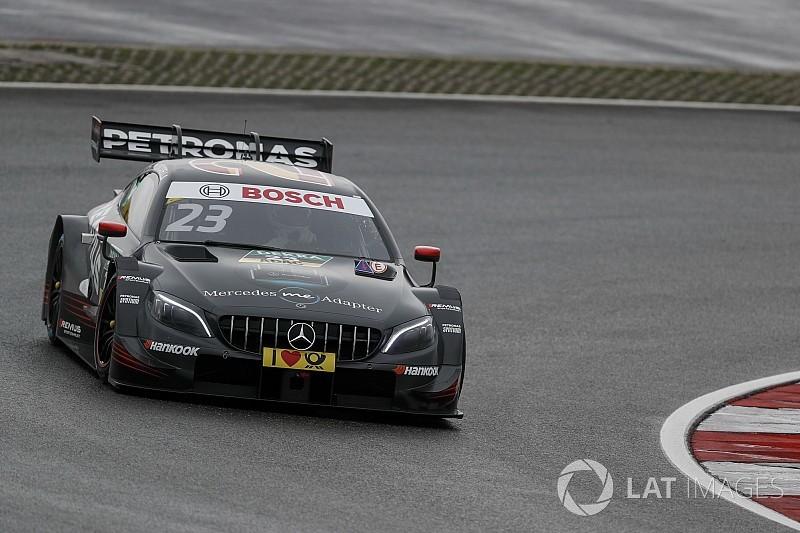 Red Bull Ring DTM: Juncadella tops red-flagged wet qualifying