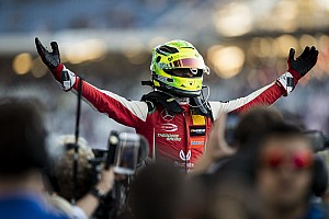 Mick Schumacher debuteert in Race of Champions