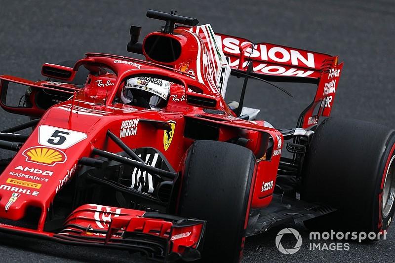 Vettel sobre la estrategia de Ferrari: