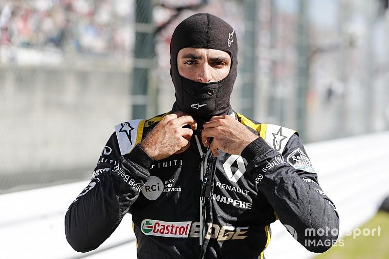 """Sainz: """"El nivel en la F1 el próximo año va a ser tan alto como siempre"""""""